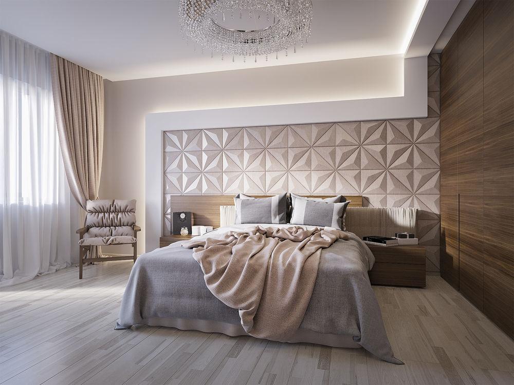 trang trí phòng ngủ bằng rèm cửa đẹp