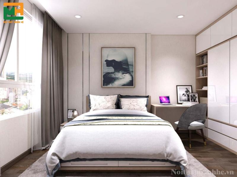 treo tranh nghệ thuật cho phòng ngủ