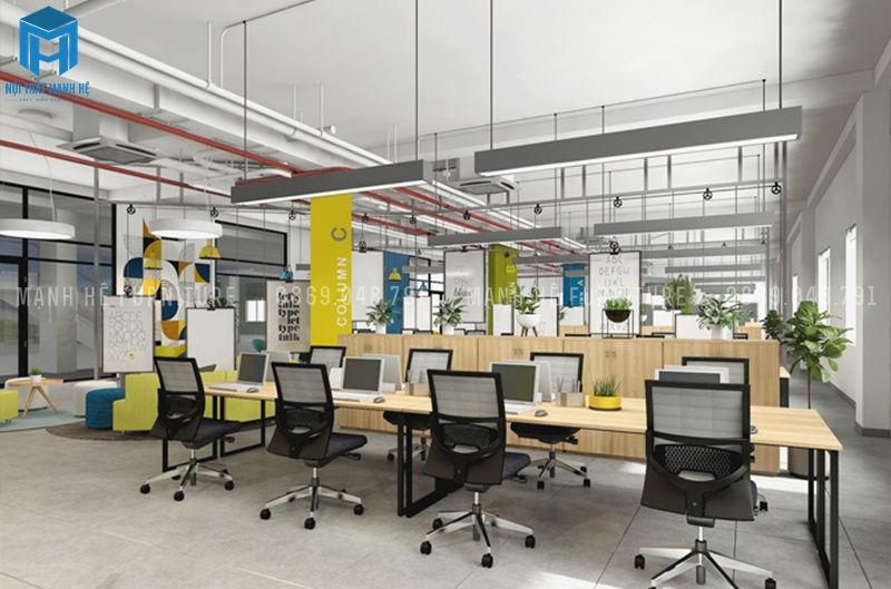 Một văn phòng tiện nghi giúp nhân viên làm việc tốt hơn