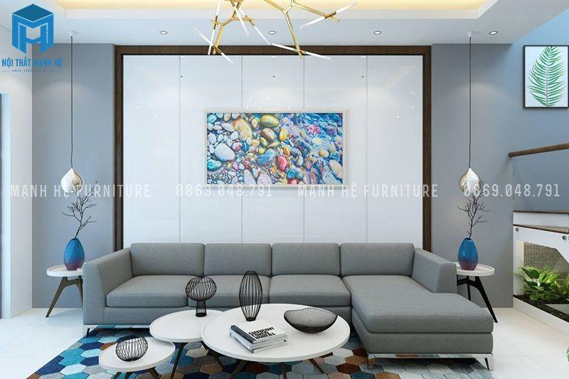 Sử dụng các phụ kiện trang trí độc đáo hình ovan, hình cầu làm điểm nhấn cho căn phòng thêm nghệ thuật