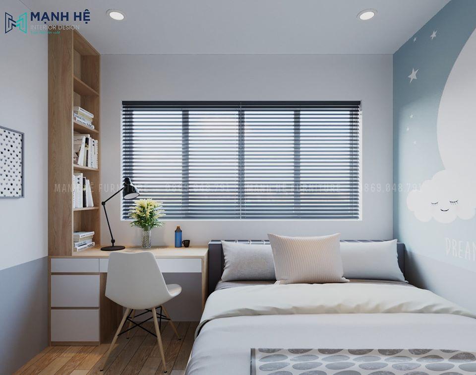 phòng ngủ nhỏ tiết kiệm diện tích
