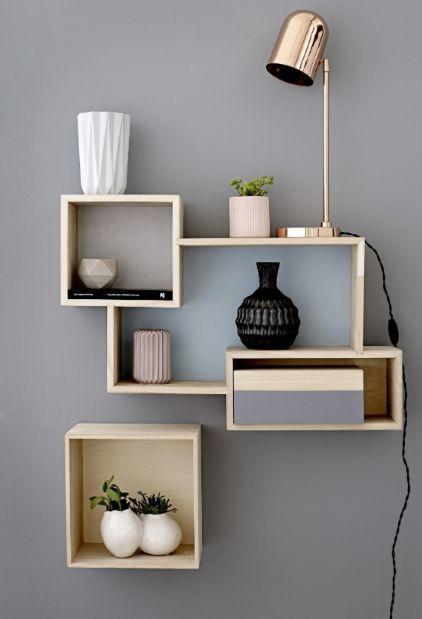 Kệ treo tường trang trí phòng khách