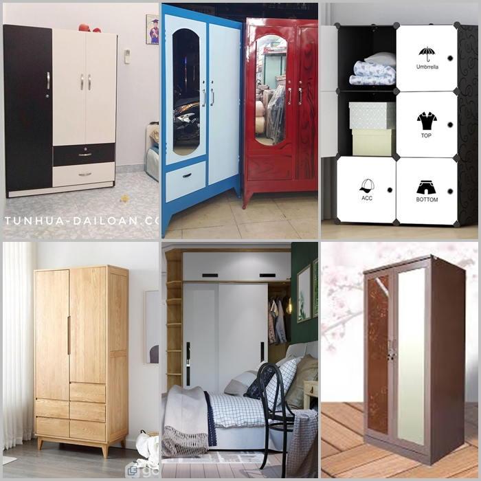 Một số mẫu tủ quần áo nhỏ gọn được ưa chuộn nhất