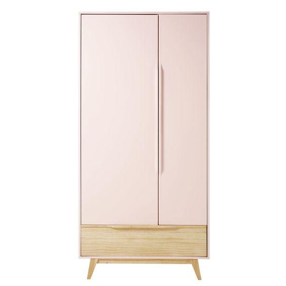 Tủ gỗ công nghiệp 2 cánh cửa lùa có kích thước không đồng đều tạo nét độc đáo so với các mẫu tủ khác