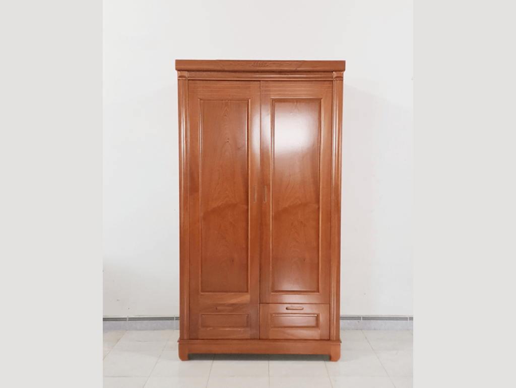 Tủ gỗ Xoan Đào nhỏ gọn sơn PU, vân gỗ tự nhiên, màu sắc đậm nét thể hiện sự đẳng cấp cho căn phòng