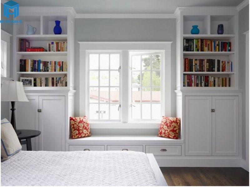 thiết kế phòng đọc sách cho bé