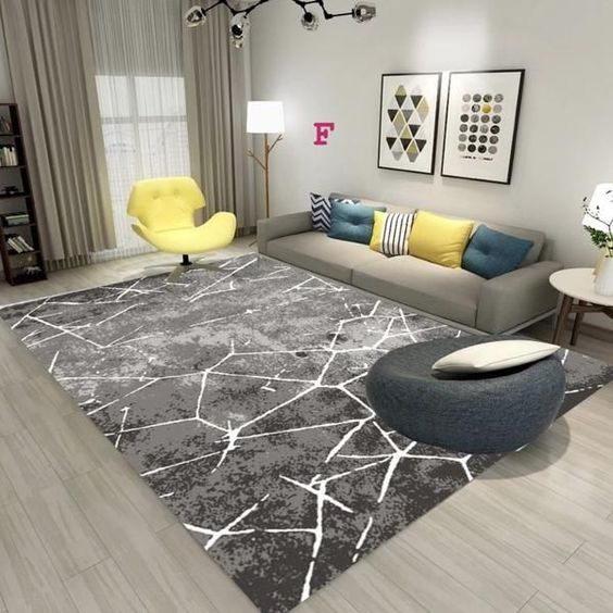 Chọn thảm trải sàn phù hợp với nội thất phòng khách