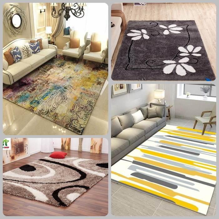 Thảm trải sàn phòng khách được làm từ nhiều chất liệu khác nhau