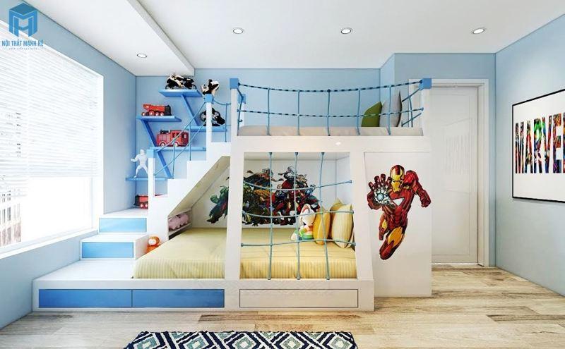 Phòng ngủ Người sắt