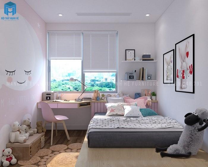 Thiết kế phòng ngủ tối đa ánh sáng tự nhiên