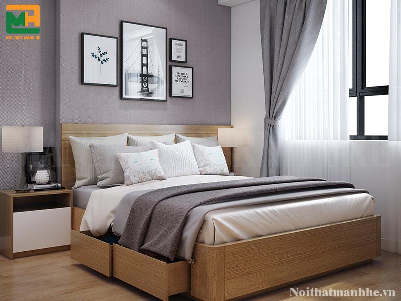 mẫu nội thất phòng ngủ cho nhà phố