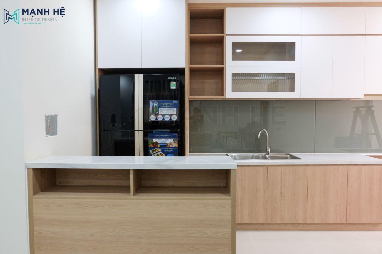 tủ bếp cho chung cư