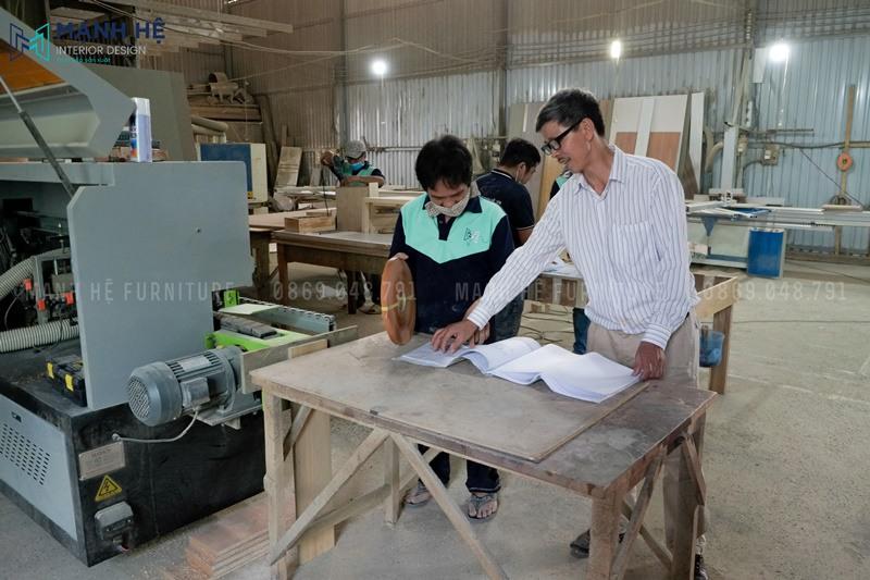 Sản xuất nội thất gỗ
