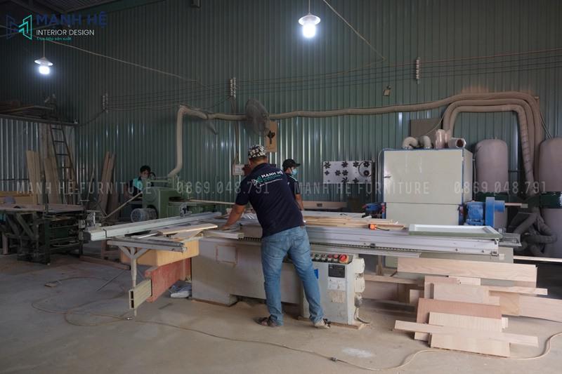 Xưởng mộc chuyên sản xuất nội thất