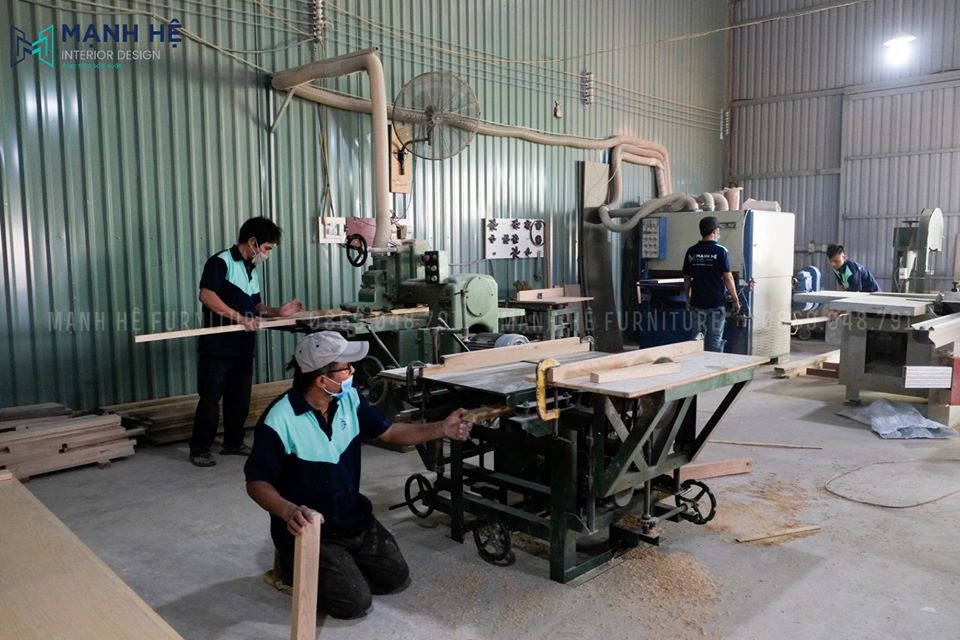 xưởng sản xuất mạnh hệ