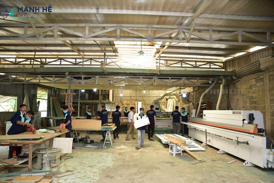 xưởng mộc trực tiếp sản xuất nội thất