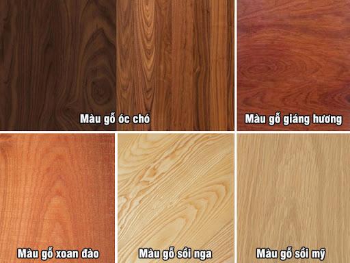 Các loại gỗ tự nhiên trong nội thất