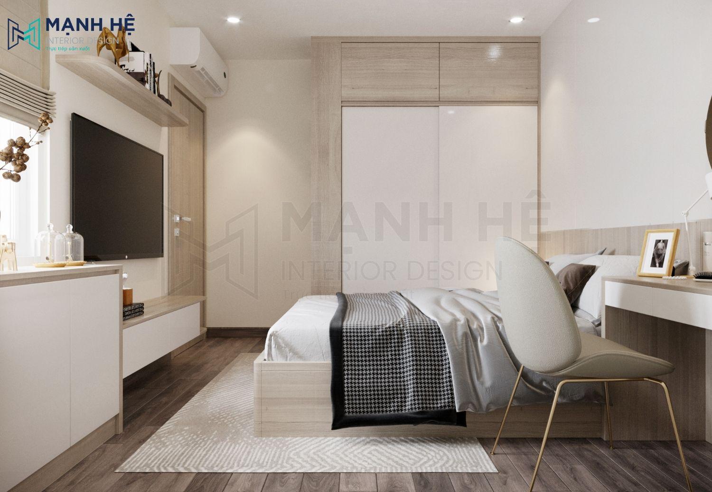 Kệ tivi treo tường phòng ngủ