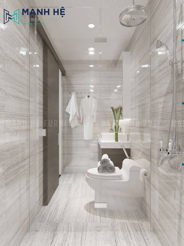 Tủ gỗ nhựa treo tường đựng đồ cá nhân nhà vệ sinh