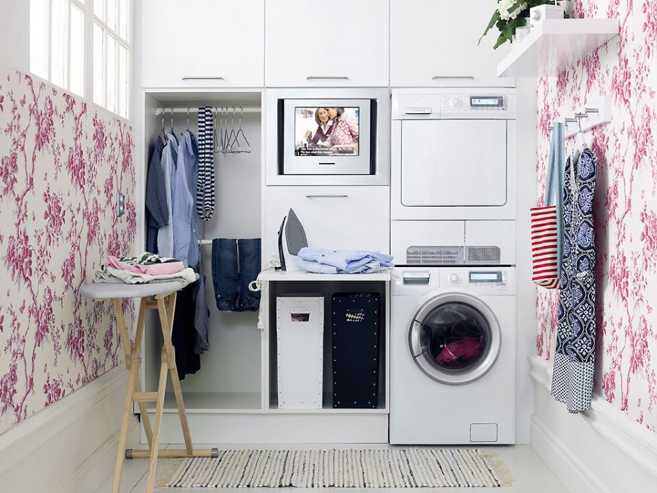 phòng giặt riêng đẹp