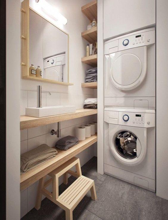 không gian giặt đồ đẹp