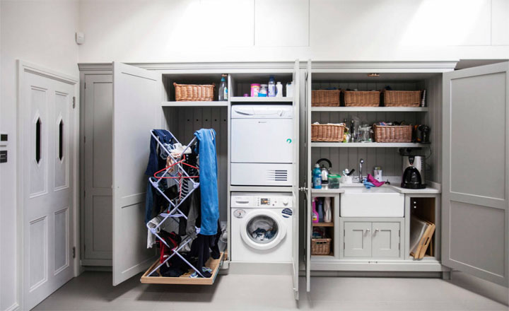phòng giặt riêng đa năng