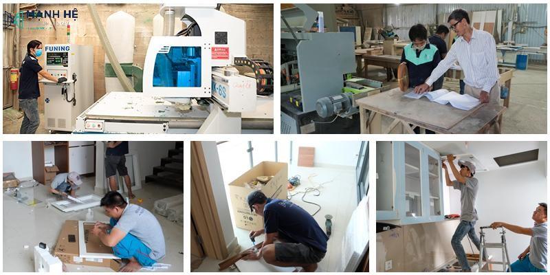 Máy móc thiết bị sản xuất hiện đại