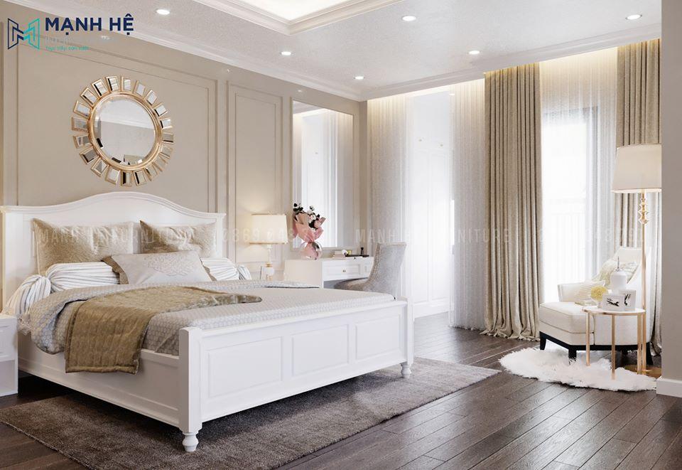 Phòng ngủ tân cổ điển xu hướng hot
