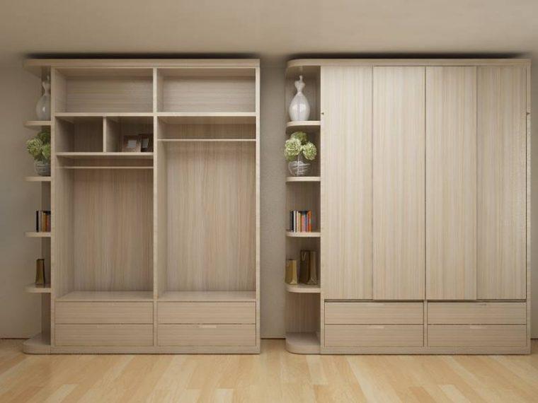 Top 40+] mẫu tủ quần áo gỗ công nghiệp đẹp nhất cho phòng ngủ