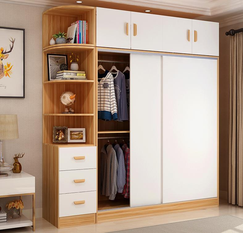 40+ mẫu tủ quần áo cửa lùa, cánh trượt tiện lợi, thông minh