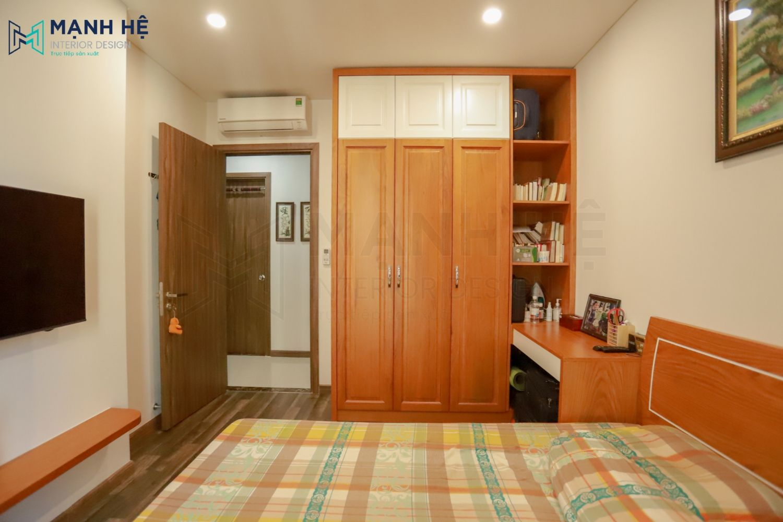 Sản xuất thi công tủ quần áo gỗ tự nhiên