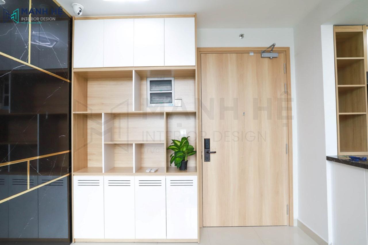 Cải tạo chung cư cũ trở nên hiện đại hơn với bộ chống trộm