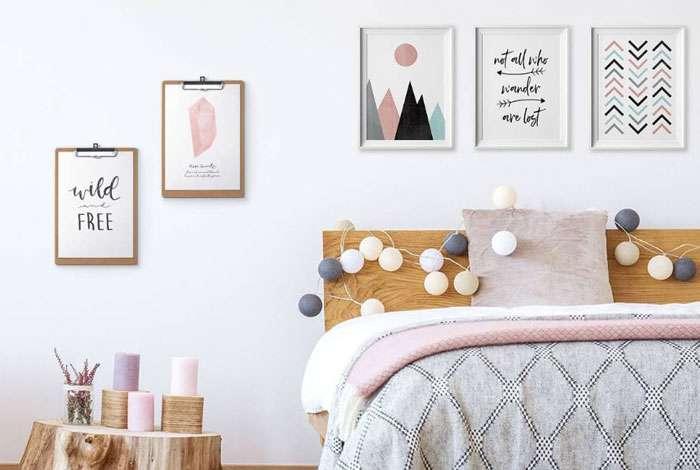 Trang trí phòng ngủ với bộ tranh treo tường