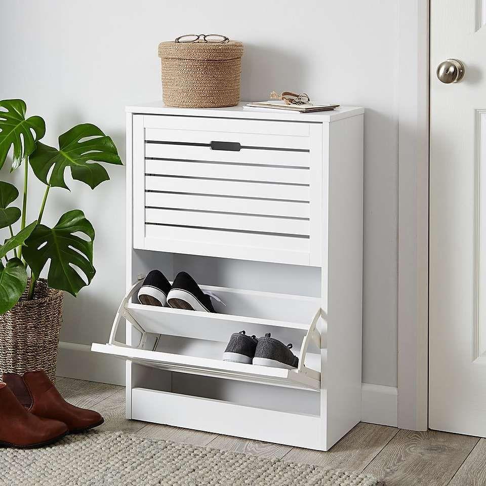 Mẫu tủ giày gỗ công nghiệp thông minh