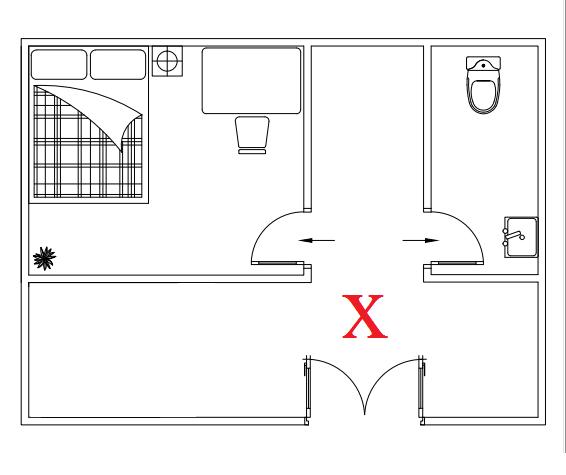 Diễn đàn rao vặt: Cách để Bố trí phòng ngủ theo phong thủy Cua-phong-ngu-doi-dien-cua-nha-ve-sinh