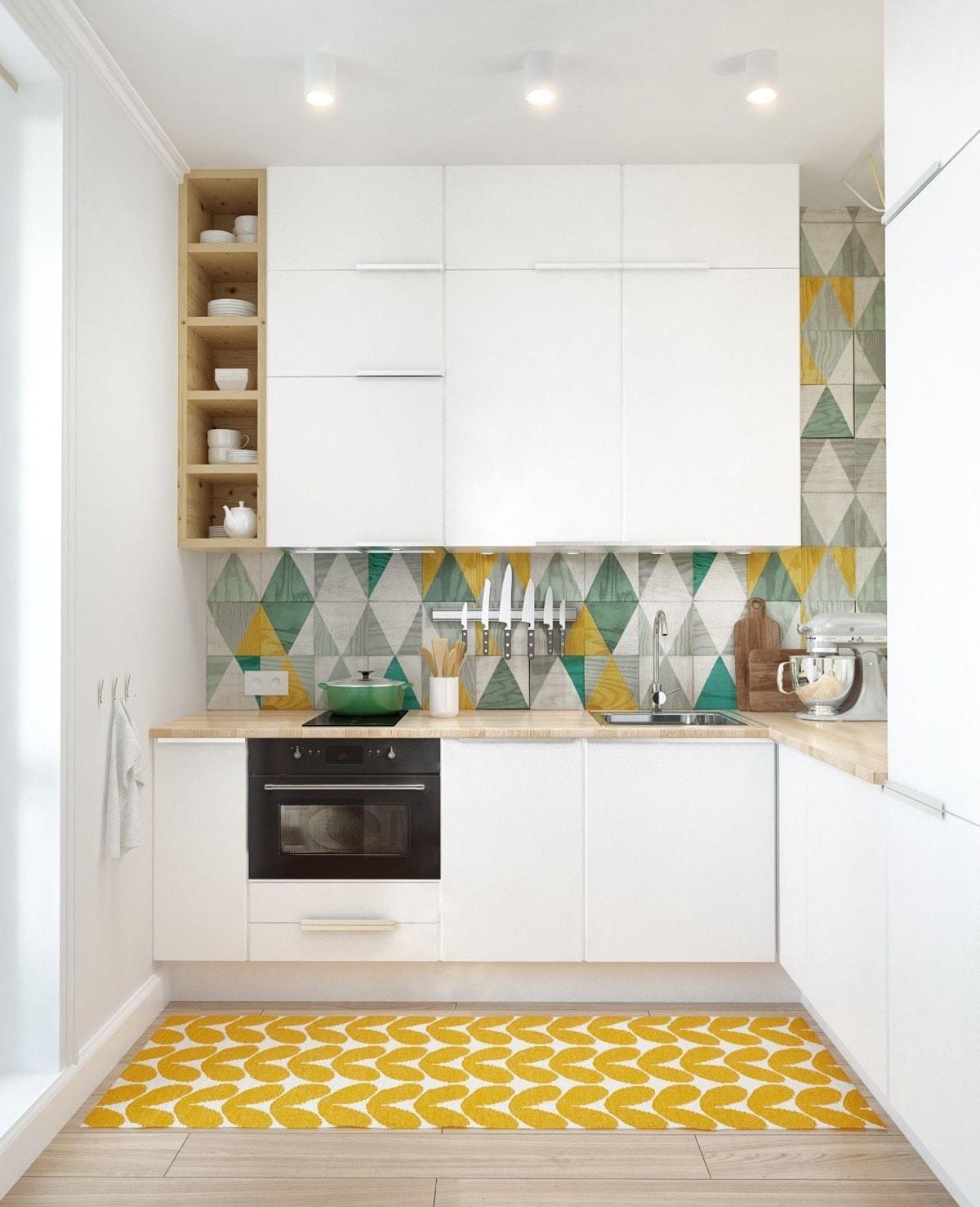 những hoa văn lạ mắt làm mới không gian nhà bếp