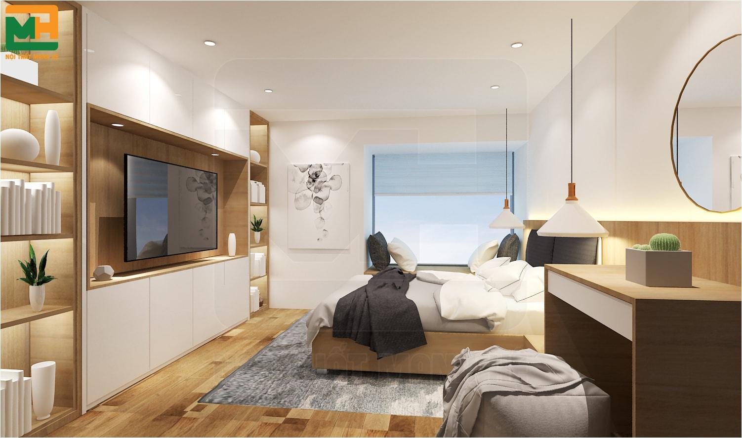 thảm trải sàn cho phòng ngủ nhỏ