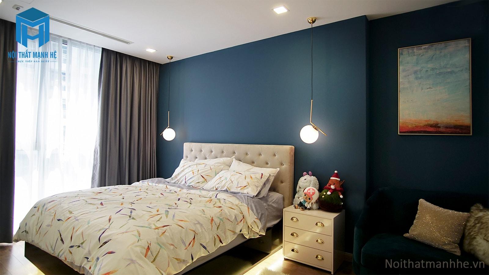 hoàn thiện nội thất phòng ngủ chung cư