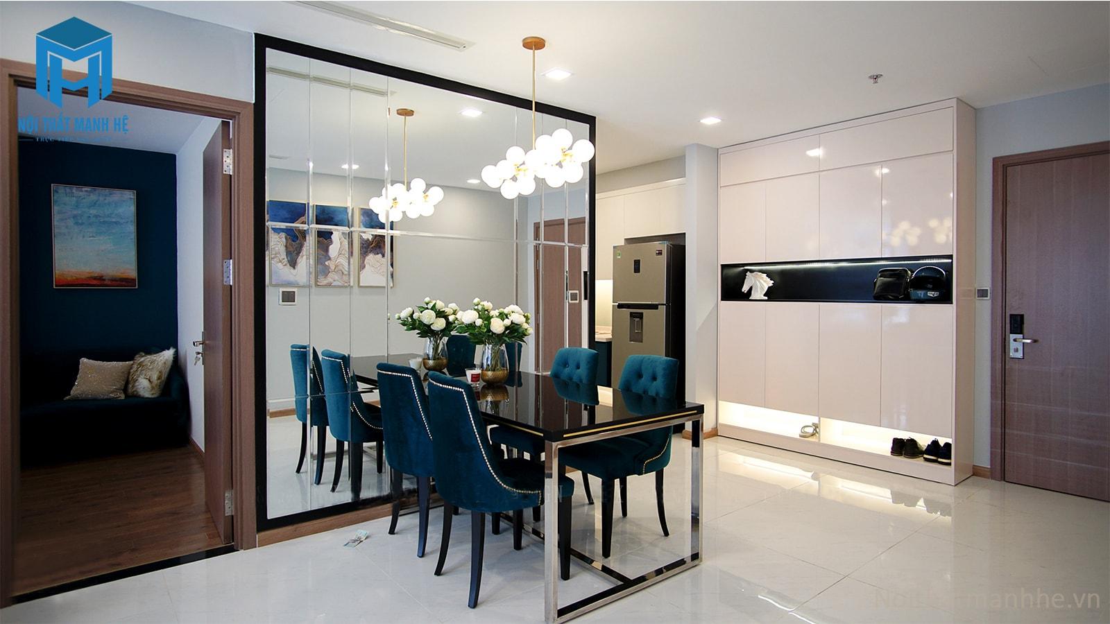 mẫu nội thất phòng ăn nhà chung cư