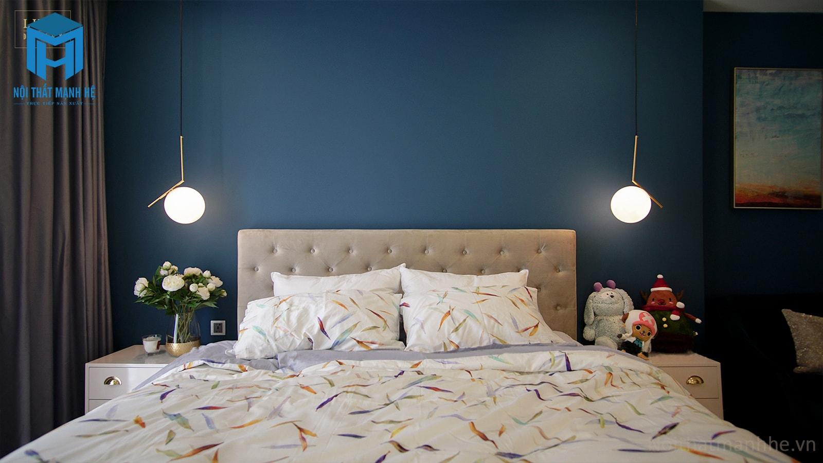 thi công nội thất phòng ngủ căn hộ