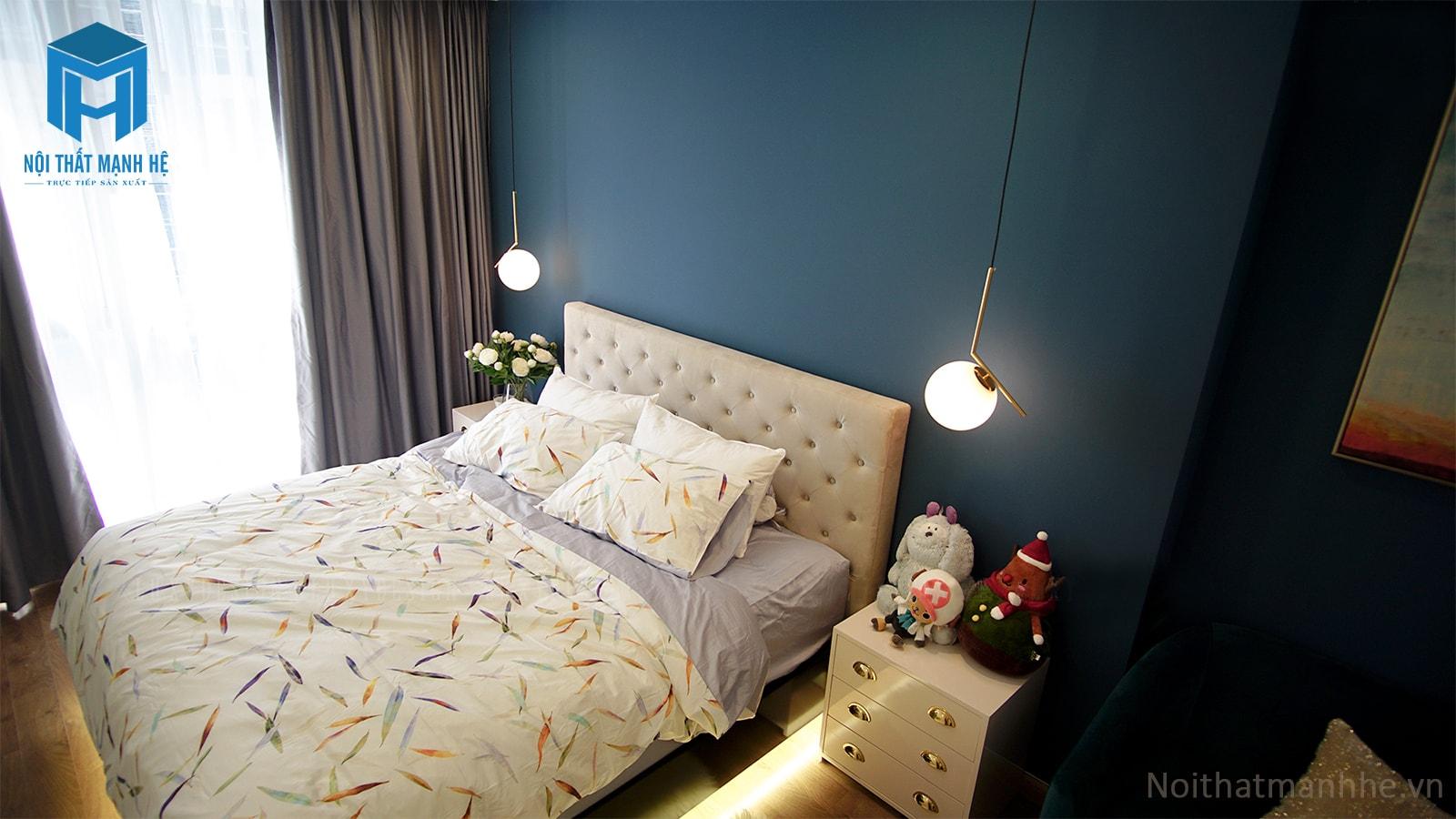 thi công nội thất phòng ngủ thực tế