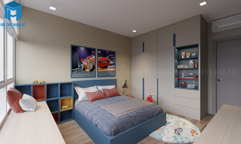 mẫu thiết kế phòng ngủ cho bé