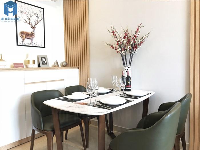 bộ bàn ăn 4 ghế hiện đại