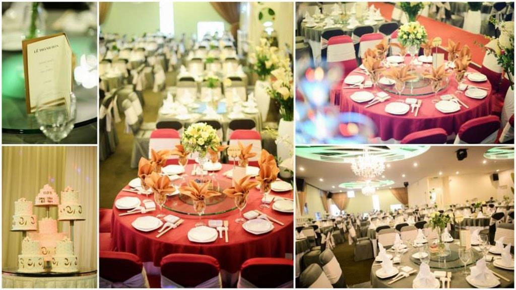 địa điểm tổ chức đám cưới