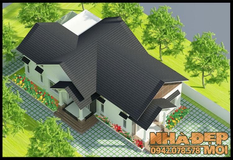 nhà cấp 4 mái thái nông thôn