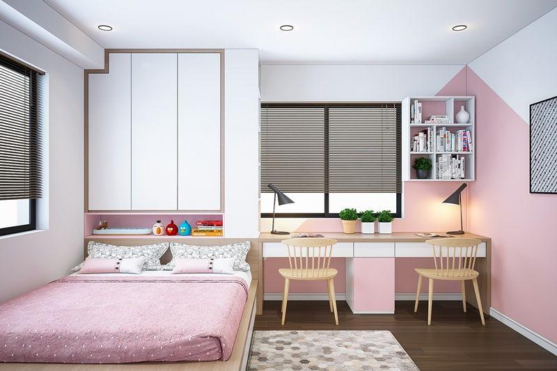 40 Mẫu Phòng Ngủ Màu Hồng đẹp Mê Mẩn Các Cô Nàng Không Nên